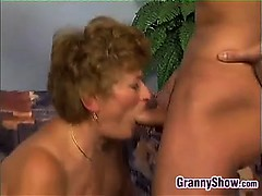 Chubby Grandma Fucking On The Couch