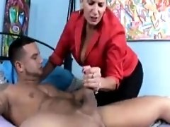 Milf Wants To Taste A Young Cock When Husband's Away